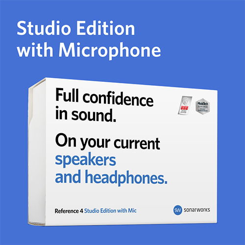 [Sonarworks] Reference 4  Studio Edition with mic (Box)