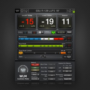 [Waves] WLM Plus Loudness Meter / 전자배송