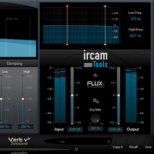 [FLUX::] Ircam Verb session V3