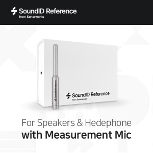 [Sonarworks] SoundID Reference for Speakers & Headphones / 마이크 포함 패키지